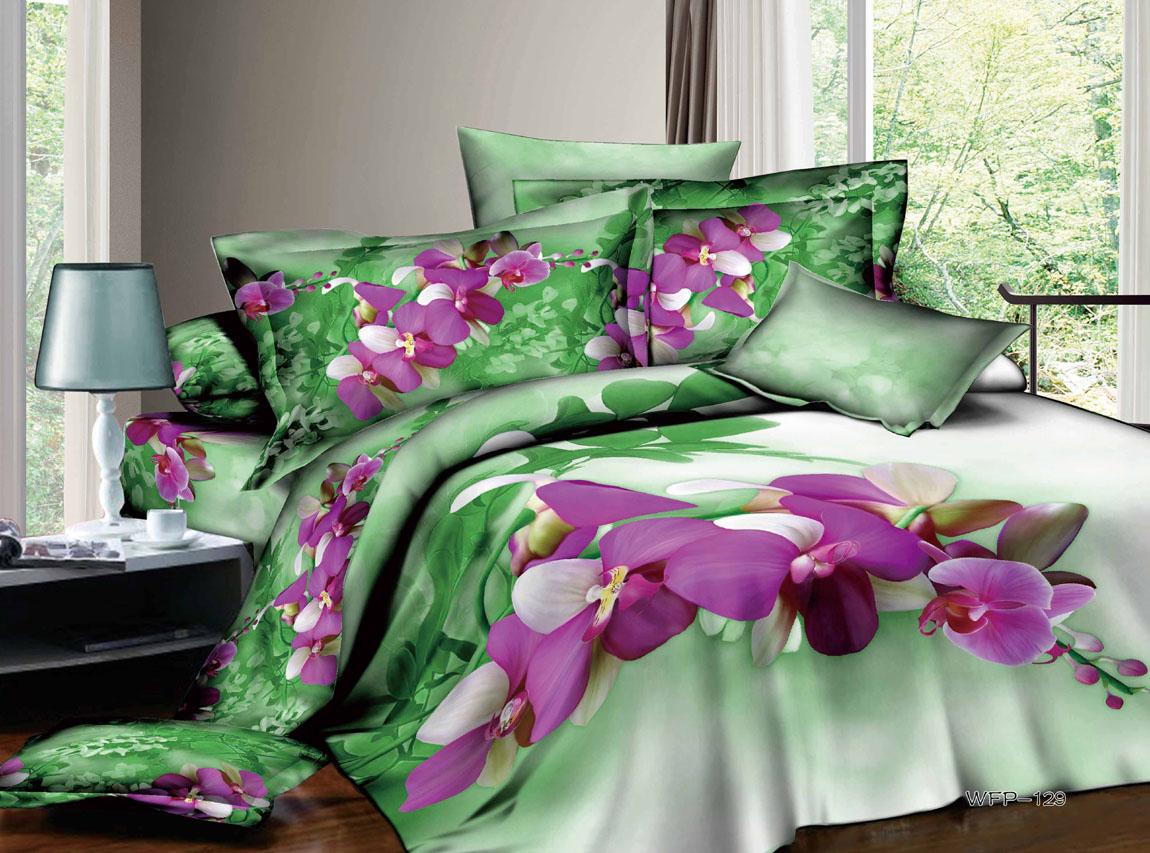 Постельное белье 3D Сад орхидей купить ...