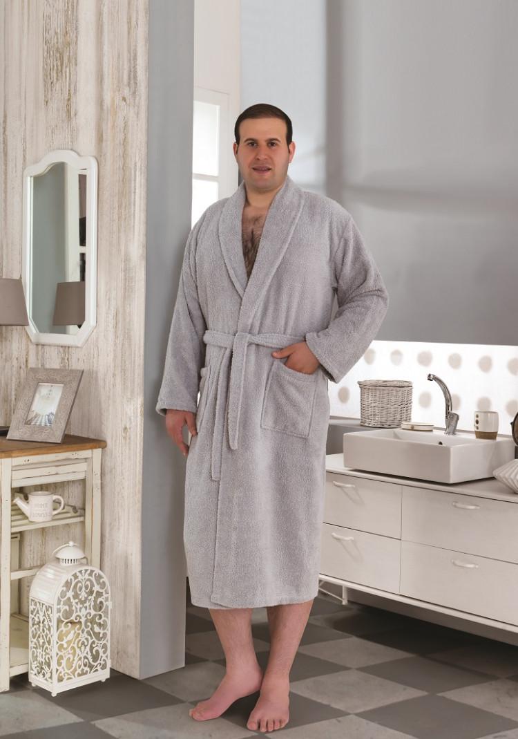 d009530b52ee Мужской махровый халат KARNA SMART купить в интернет магазине. Цена, фото,  отзывы,